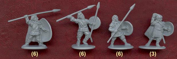 8133 armée gothique gothic army fédérés foederati