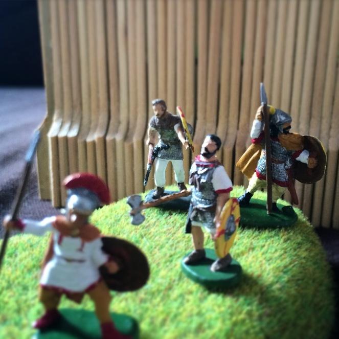 castriciani 20mm romains peints
