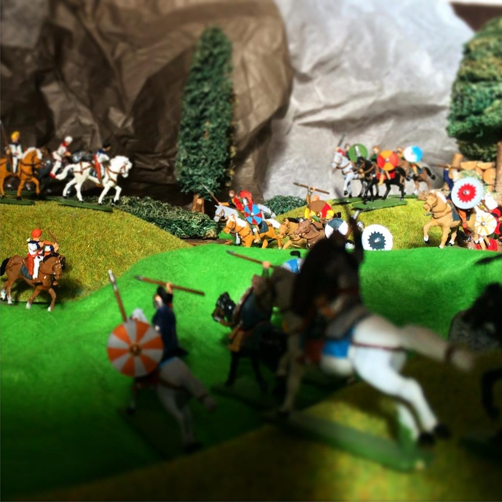 Adrianople battle diorama 20mm