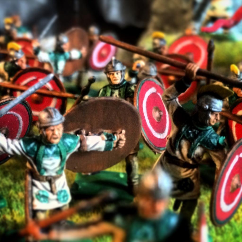 tactique romaine abandonnée